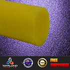YELLOW OIL FILLED CAST NYLON ROD / SELECT DIAMETERS / 1000mm LENGTHS / FREE S...