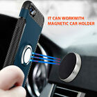 Magnetic with Ring Car Holder Shockproof Luxury Case Cover For iPhone X 8 7 Plus