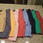 New Boys Brooks Brothers Fleece Shorts All Sizes Tan Pink Blue Orange Red Green