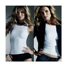 Avon Body Illusions White Control Vest Top
