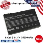 Battery for Acer Aspire 3690 5100 3100 3102 5610 5515 5610Z BATBL50L6 Charger US