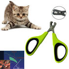 Pet Cleaning Stainless Steel Nail Clipper Dog Cat Scissors Claw Trimmer Perfect