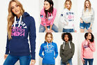 New Womens Superdry Hoodies Selection - Various Styles & Colours 2906
