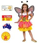 GLITTERY ORANGE BUTTERFLY COSTUME, CHILD  BOOK WEEK SPECIAL NEW