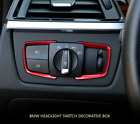 BMW 2Pcs/Set Headlight Adjust Switch Cover Trim Car Accessories Interior Decal