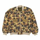 Vintage Columbia Duck Camo Hunting Shooting Jacket Size XL L