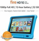 "New Sealed Amazon Fire HD 10 Kids tablet 10.1""  32GB  BLUE YELLOW PINK"