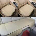 Car Front Rear Seat Cover Breathable PU Leather Pad Mat Chair Cushion Universal  <br/> Front &amp; Rear Seat Cover Set; 4-Colour ;570 Sold+