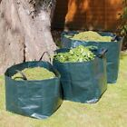 GARDEN WASTE RECYCLING BAGS / REFUSE SACKS HEAVY DUTY WITH HANDLES 70L 100L 170L