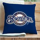 Milwaukee Brewers MLB Custom Pillows Car Sofa Bed Home Decor Cushion Pillow Case on Ebay