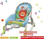 Baby Unisex Musical Rocker Bouncer Chair Infant to Toddler Vibration Lay &amp; Play <br/> UK SELLER*HIGH QUALITY*FREE DELVERY*ADJUSTABLE POSITION
