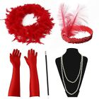 Adult 1920's Ladies Gatsby Fancy Dress Womens Charleston Outfit Flapper Costume