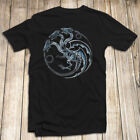 Yu-Gi-Oh Men's T Shirt - Blue Eyes White Dragon Made In USA Fast Shipping  image