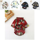 Cute Dog Clothes New Fashion Pineapple Pattern Cotton Handsome Shirt For Puppy