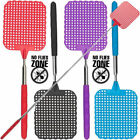 HEAVY DUTY EXTENDABLE FLY SWATTER Bug Mosquito Insect Killer Telescopic Tool