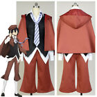 Bungou Bungo Stray Dogs Ranpo Edogawa Costume COSplay Outfit Suit Uniform Attire