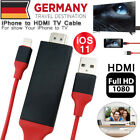 2M Lightning HDMI HDTV Adapter Video Kabel für iPhone X 8 7 6s 6 Plus iOS 11.3