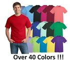 Hanes Mens Short Sleeve Tees Tops Tagless 100% cotton T-Shirt S-3X 5250