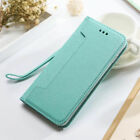 Detachable Slim Flip Wallet Case Magnetic Silicone Cover For iPhone Samsung   T