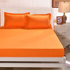 Room Simple Solid Color Mattress Cover Bedspreads Bed Sheets Replacement