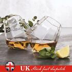 Diamond Glasses Set of 2 Whiskey Spirit Glass Drinking Gift