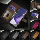 For Samsung Galaxy S9 S8 A8 Plus 2018 Magnetic Flip Leather Wallet Case Cover