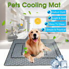 Cooling Summer Non-Toxic Relief Pad Bed Dog Mat Cat Heat Chilly Pets Cool