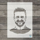 Justin Timberlake STENCIL Airbrush Craft Template Singer Famous People Face