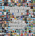 Miscellaneous DVD Lot #11: DISC ONLY - Pick Items to Bundle and Save!