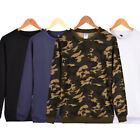 Men's Slim Fit Long Sleeve Slim T-shirts Casual Tee Shirt Tops Pullover US