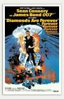 """Diamonds Are Forever - 11"""" x 17""""  Movie Poster $46.99 USD on eBay"""