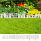 17 Pcs Garden Fence Boarder 32.8 ft Fencing Outdoor Landscape Decor Edging Yard