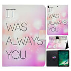 """For iPad 9.7"""" 2018 6th/Air 2/Mini Auto Wake/Sleep Smart Wallet Stand Case Cover"""