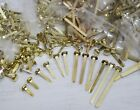 Paper Fasteners Brass Plated 13, 20, 25, 30, 40, 50mm