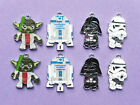 STAR WARS CHARACTER YODA R2D2 Metal Charms jewellery Party Bags choose no. £3.15 GBP on eBay