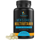 Multivitamin For Men 1200mg Premium Non-GMO Daily Whole Food Supplement $9.92 USD on eBay