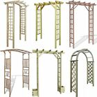 Garden Wedding Rose Arch Pergola Archway Flowers Climbing Plants Trellis Wooden