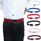 Внешний вид - Boys Kids Buckles Belt Adjustable Elastic Children Buckle Belts Waistband