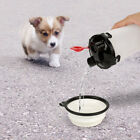2 in 1 Portable Pet Dog Water Food Bottle with Foldable Bowl for Outdoor Travel