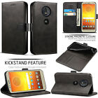 Motorola Moto E5 / E5 Plus / Moto G6 Play - Leather Wallet Flip Book Case Cover