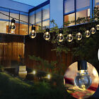 Внешний вид - Solar String Lights Outdoor Patio Party Home Yard Garden 10 LED Waterproof Bulbs