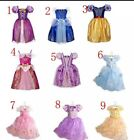 Girls Princess Fancy Dress Party Costume Kids Outfit