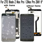 Original For ZTE Blade Z Max Pro/ZMax Pro Z981 LCD Display TouchScreen Digitizer
