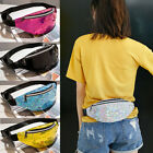 Women Men Travel Waist Fanny Pack Money Belt Wallet Glitter Bum Bag Pouch Bags