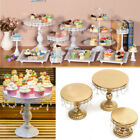 3 Size Round Cake Stand Display Dessert Food Holder Wedding Party Decor 2 Colors