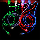 3ft LED light-up data sync USB Charger Cable FOR apple iPhone x 8 7 6 7 Plus 5 S