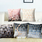 Geometric Printed Polyester Throw Pillow Cases Sofa Cushion Cover Home Decor