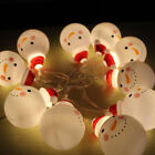 Holiday Indoor Party Light Battery Home Christmas Snowman Snowman Lights