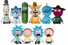 "Official 12"" Rick and Morty Soft Toys Plush Pickle Mr Meeseeks Squanchy"