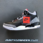 Nike Air Jordan 3 OG Black Cement Grey 2018 Retro 854262-001 88